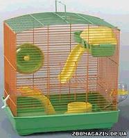 """Золотая клетка для мелких грызунов 235 В YD """"эмаль"""", (31*21*33 см.)"""