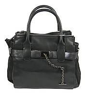 Черная женская повседневная сумка Solemate, фото 1