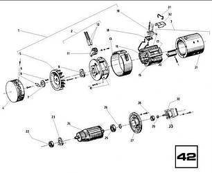 42 Електродвигун насосний