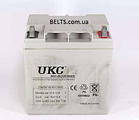 Гелевый аккумулятор UKC 12V 26A, батарея аккумуляторная УКС 12 вольт 26 Ампер