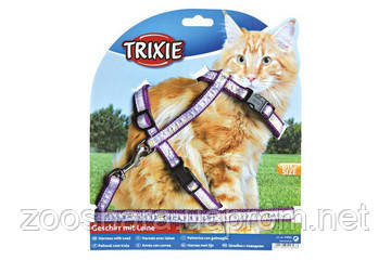 TRIXIE Шлея для кошек Harness 25-44cm/10 mm