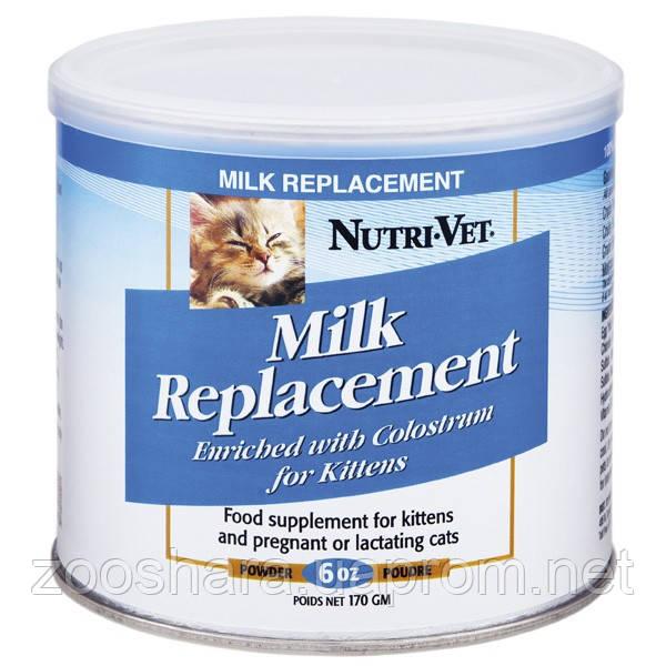 Nutri-Vet МОЛОКО ДЛЯ КОТЯТ (Kitten Milk) заменитель кошачьего молока для котят, 0.17 кг