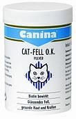 Canina Cat Fell O.K. Pulver витамин, пищевая добавка с биотином для кошек, 100 гр.
