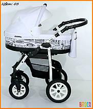Детская коляска VERDI LASER 2 в 1, фото 3
