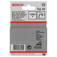 1000 скрепок Bosch 8мм Т53, 2609200215
