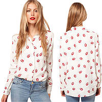 Женская блуза Crystal Lips РМ6608