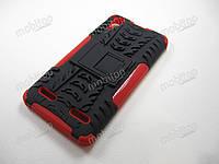 Бронированный чехол Lenovo A6010 / A6000 / K3 (красный)