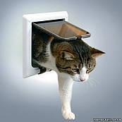 Дверца для кота (пластик) Trixie Way Cat Flap with Tunnel (38641)