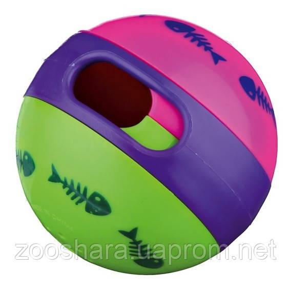Trixie Мяч-кормушка для кота (резина), o 6 см.