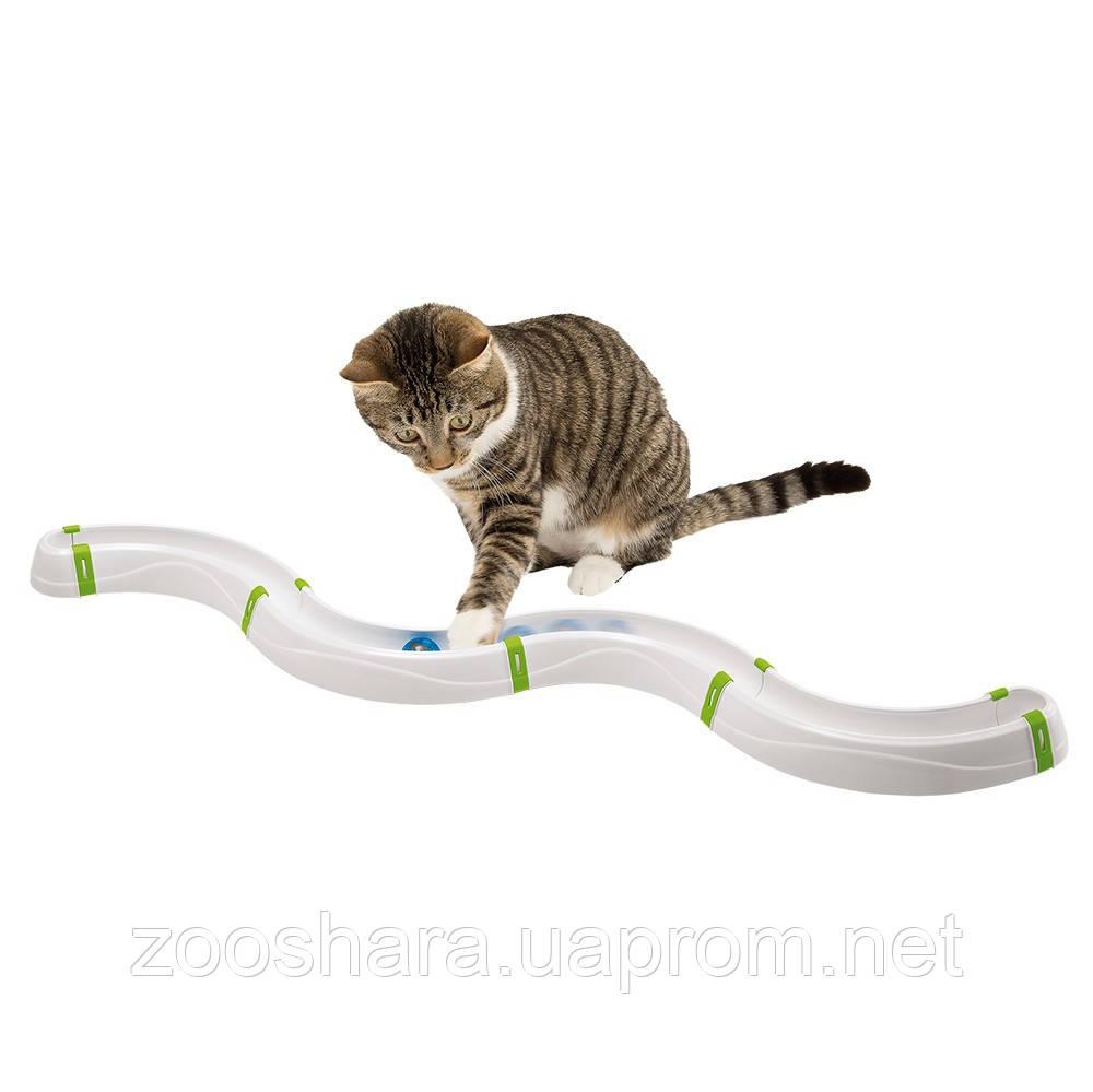 Ferplast TOBOGA Тобогган Интерактивная игрушка для кошек, 100 x 17 x h 5 см.