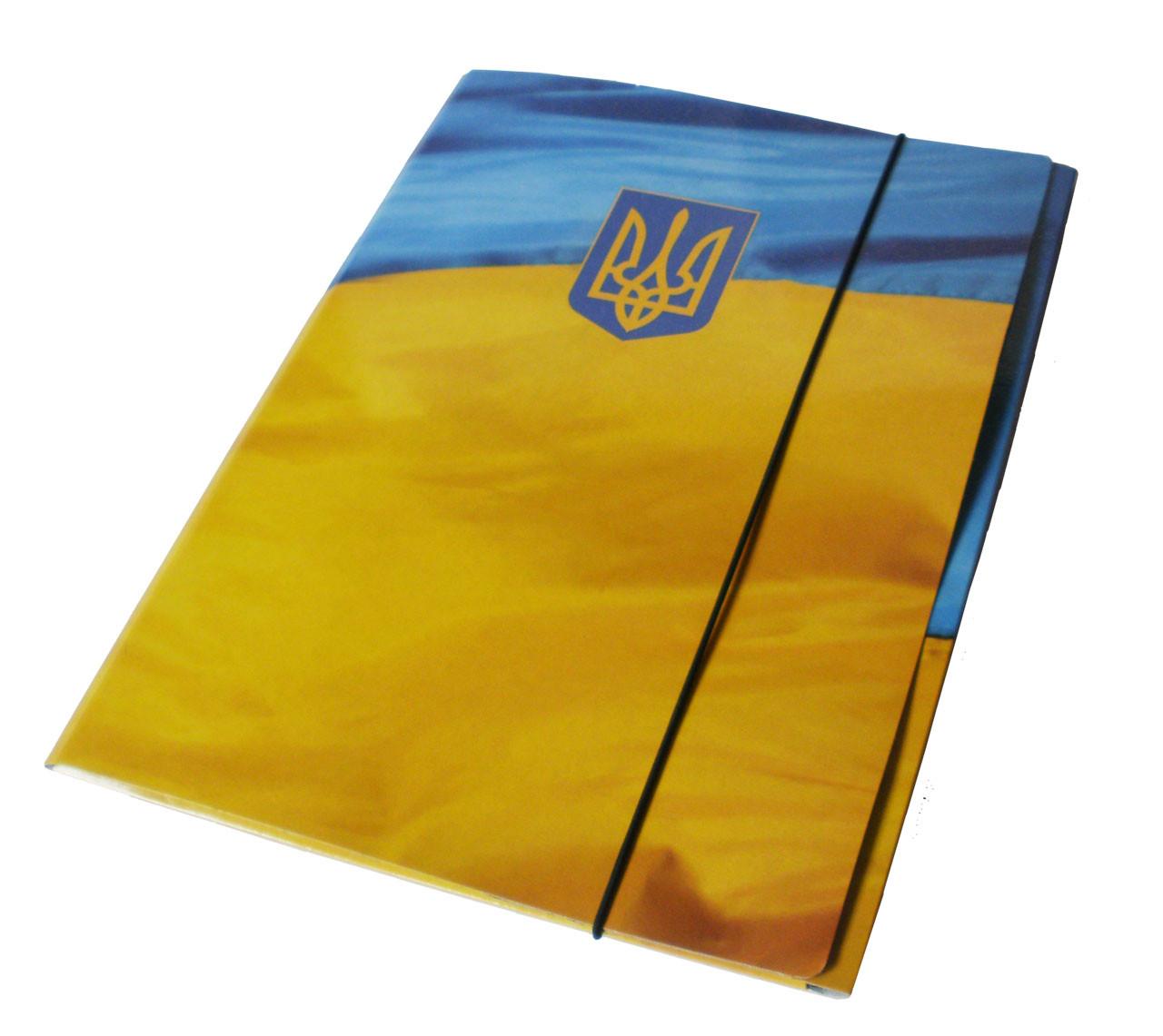 Папка на резинке, А4, 10-20 мм, картон 1 мм , PP-покрытие
