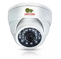 Внутренняя AHD видеокамера купольная Partizan CDM-333H-IR FullHD v3.3