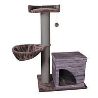 Karlie-Flamingo VILLA SCRATCH POLE домик-драпак, когтеточка для котов