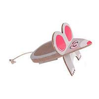 Karlie-Flamingo MOUSE SCRATCHING BOARD мышь драпак, когтеточка-доска для котов
