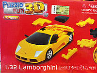 Кристаллические 3D-пазлы. Машина Lamborghini, 64 детали