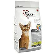 1st Choice (Фест Чойс) с уткой и картошкой гипоаллергенный сухой супер премиум корм для котов (2,72 кг)
