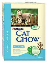 Cat Chow (Кэт Чау) Kitten 15кг - корм для котят с курицей