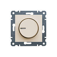 Светорегулятор поворотный Lumina-2, кремовый, 60-600 Вт
