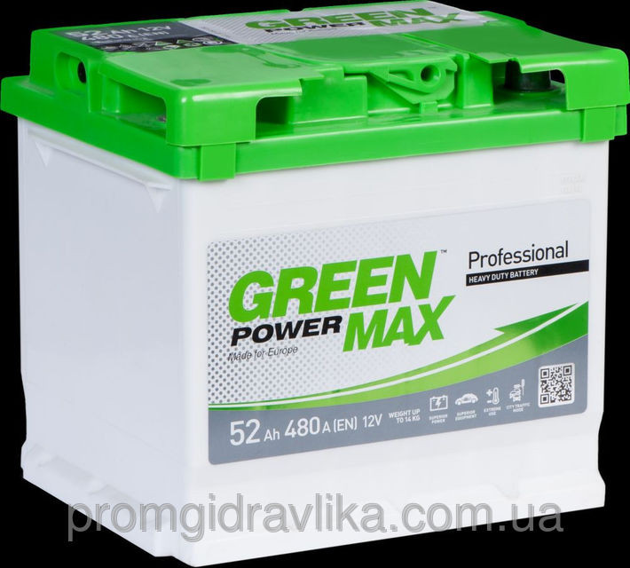 Green Power Max 6СТ- 110 А.З.Е.