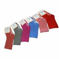 """Детские шерстяные носки с тормозами ТМ """"Роза"""" 1-2 года на стопу 10 - 12см."""