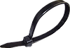 Стяжка нейлон чорна 3,6*300 мм