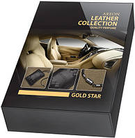 Ароматизатор для авто Areon Leather Collection Gold Star