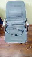 Накидка на сиденье с подогревом КОМФОРТ серая низкая 12В (DK-514GR)<ДК>