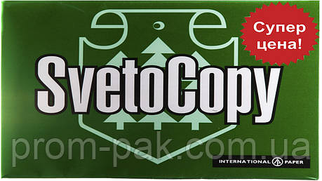 Офисная бумага  Sveto Copy  A4 пл 80  500лис, фото 2