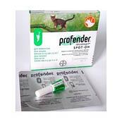 Profender (Профендер) капли для кошек весом от 0,5 кг до 2,5 кг (1 пипетка)