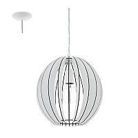 Подвесной светильник (люстра) Eglo 94438 Cossano, белый, Е27, 60Вт