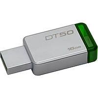 USB 3.0 флешка Kingston DT 50 16GB metal ( DT50/16GB ), фото 1
