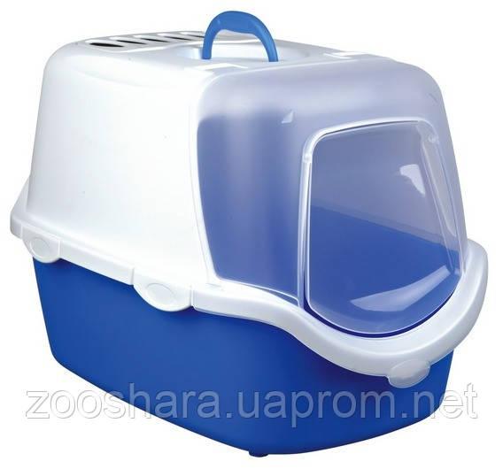 Закрытый туалет для кошек Trixie Vico Easy Clean Litter Tray, with Dome 40342