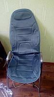 Накидка на сиденье с подогревом Дорожная карта DK-515GR серая высокая