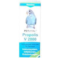 Canina Petvital Propolis V 2000 для укрепления иммунной системы птиц, 10 гр