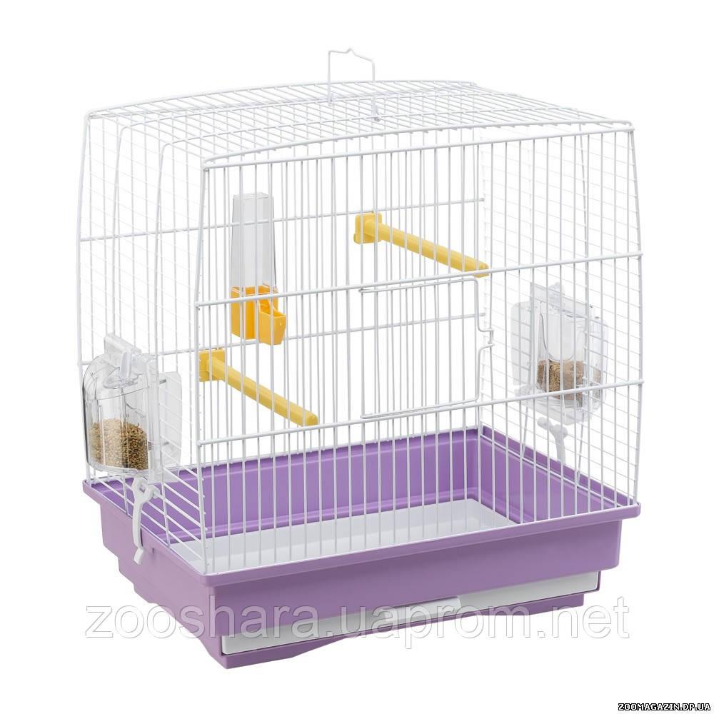Ferplast REKORD 1 клетка для маленьких птиц, 35,5 x 24,7 x h 37 см.