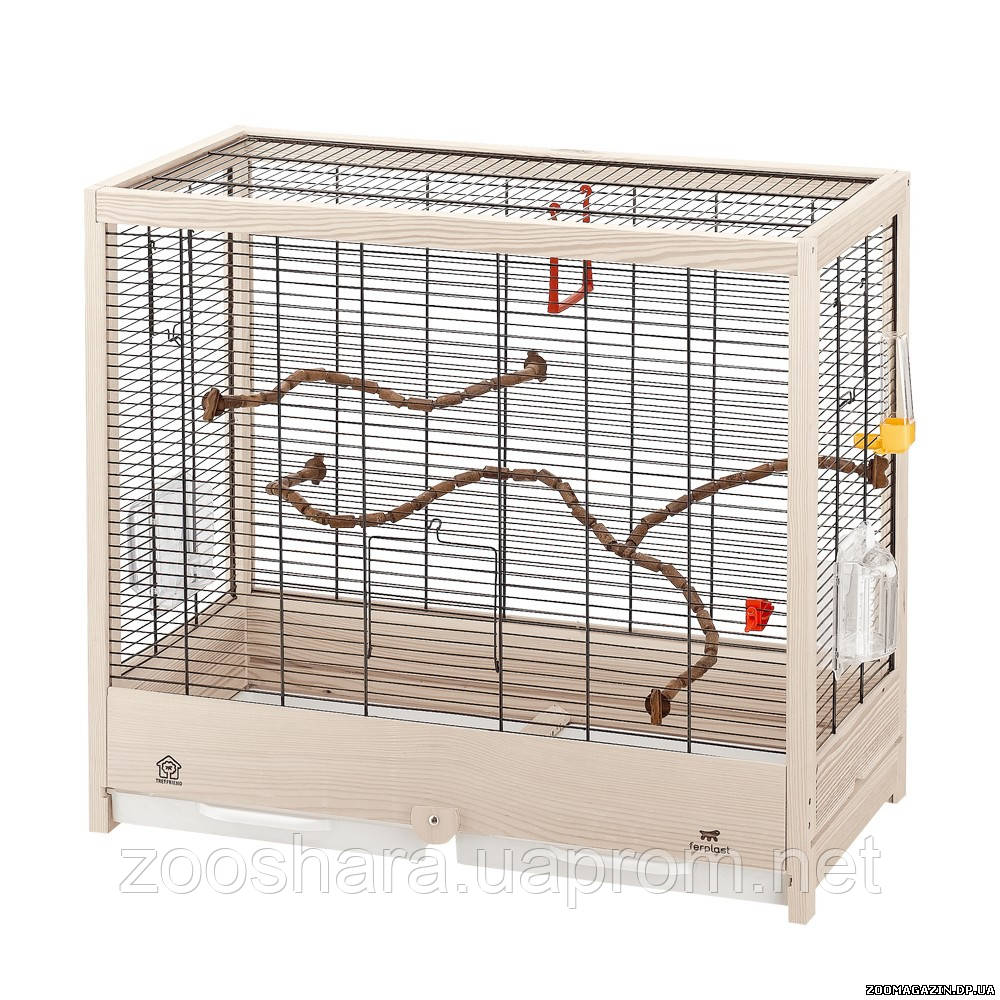 Ferplast GIULIETTA 5 клетка для птиц среднего и малого размера, 69 x 34,5 x h 58 см.