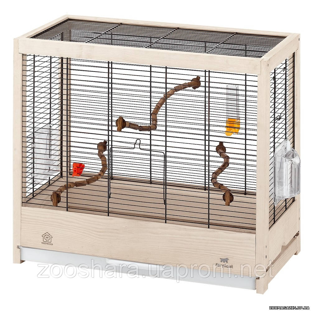 Ferplast GIULIETTA 4 клетка для птиц среднего и малого размера, 57 x 30 x h 50 см.