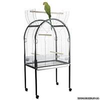 Imac АМАНДА (AMANDA) клетка для крупных попугаев, пластик 85х54х155 см.