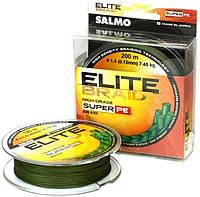 Шнур Salmo Elite Braid 0,15mm 200m Green