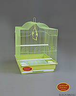 """Золотая клетка для птиц А-413 """"эмаль"""" (35*28*46 см)"""