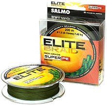 Шнур Salmo Elite Braid 0,09 mm 125м Green