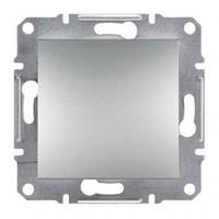 Механизм выключателя 1-клавишного алюминий Schneider Electric Asfora EPH0100161