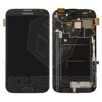 Дисплейный модуль для мобильного телефона Samsung I9100 Galaxy S2, черный