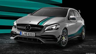 Внешний тюнинг Mercedes A W176