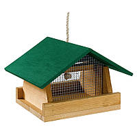 Ferplast (Ферпласт) кормушка деревянная для птиц F1 FEEDER