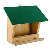Ferplast (Ферпласт) кормушка деревянная для птиц F4 FEEDER