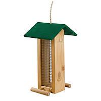 Ferplast (Ферпласт) кормушка деревянная для птиц F5 FEEDER