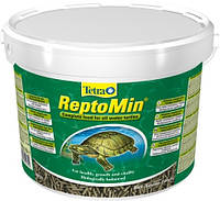 Tetra ReptoMin - гранулы для черепах (10 л)