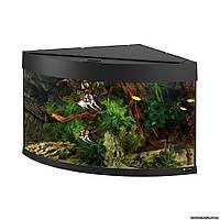 Ferplast DUBAI CORNER 90 BLACK аквариум для рыб, 66 x 93 x h 57 см. - 180 л.