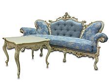 Шкіряний диван, розкладний диван, м'який диван, меблі з шкіри, диван, фото 2